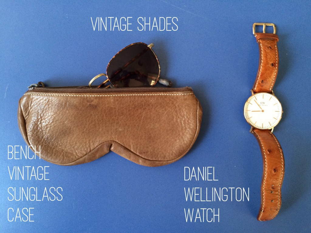 Whats in my bag - Bench Vintage Sunglass Case