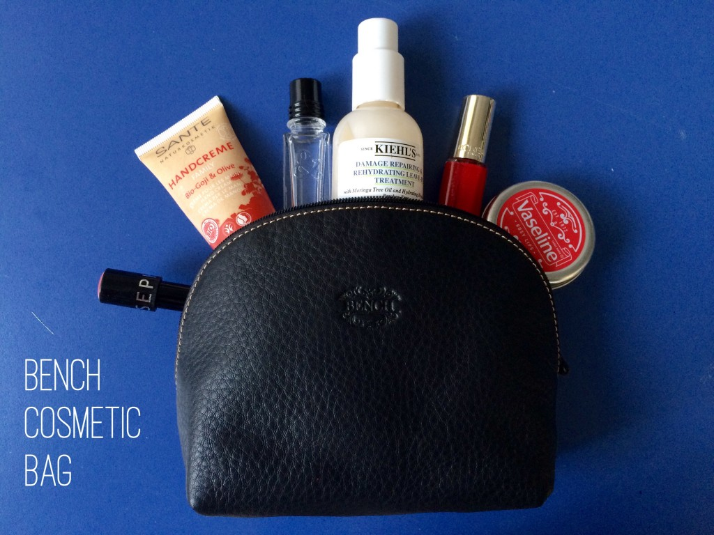 Whats in my bag - Bench Cosmetic Bag