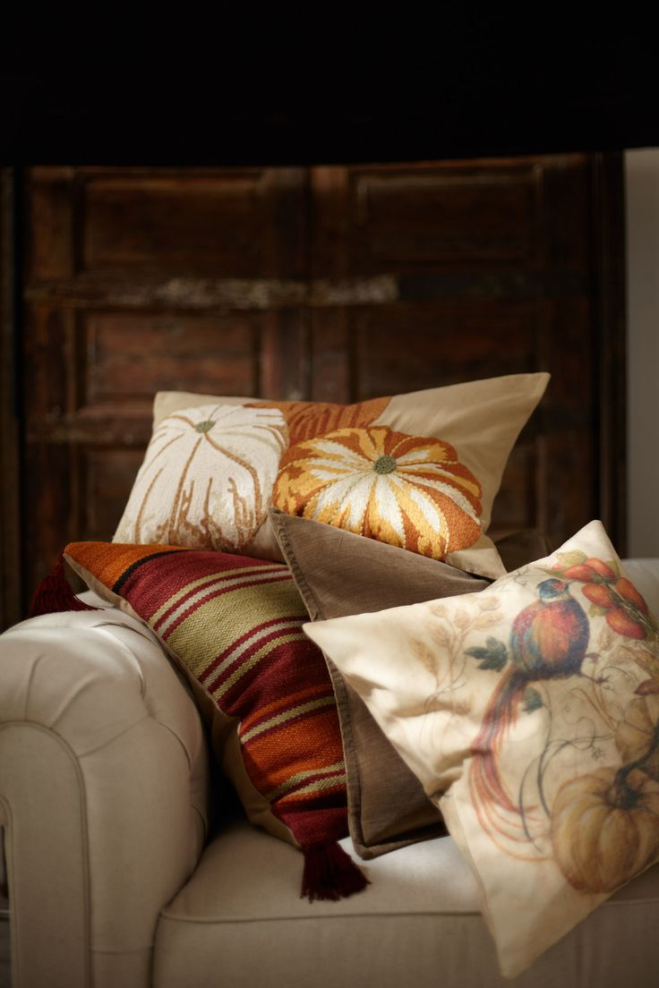 Pillows 4 - Fall decorating ideas