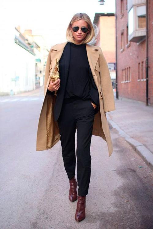 Favourite clothes. Black Trousers 1
