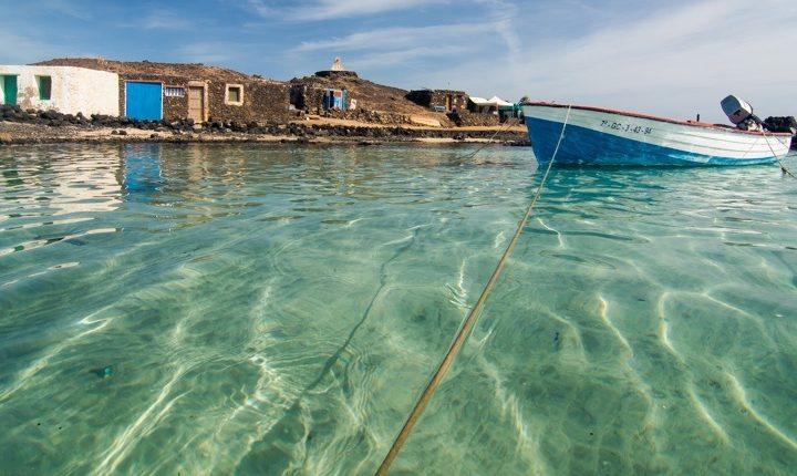 The Lobos Island in Fuerteventura