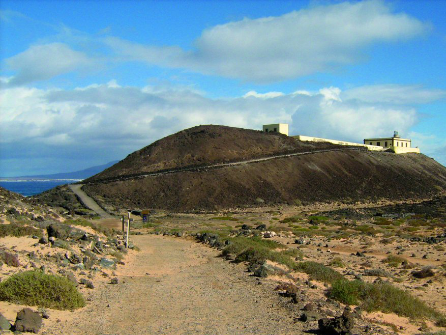The Lobos Island in Fuerteventura