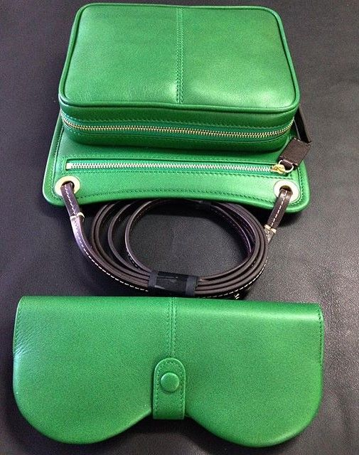 Jade Cross Body Bag & Eyeglass/Sunglass Case
