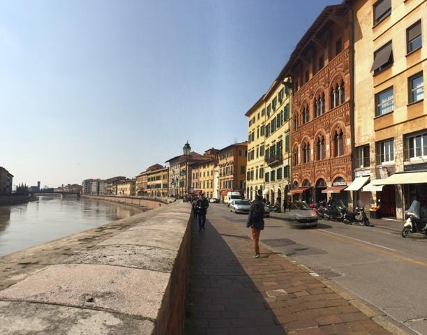 Lungarno Pisa.