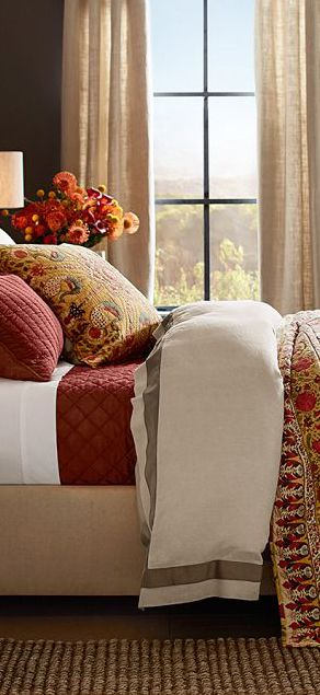 Bedding 1 - Fall decorating ideas