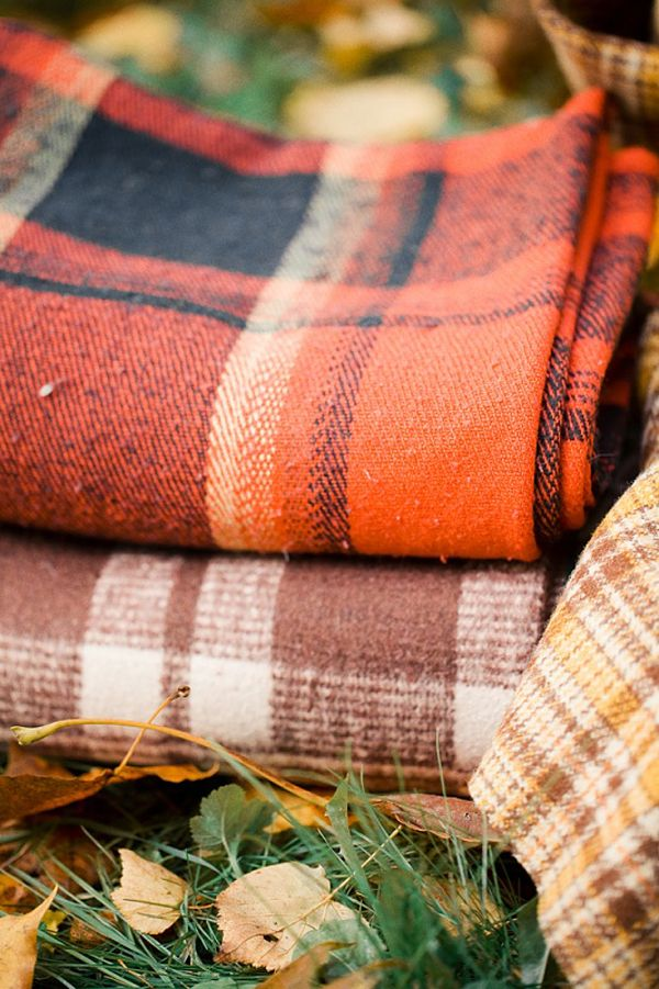 Throws - Fall decorating ideas