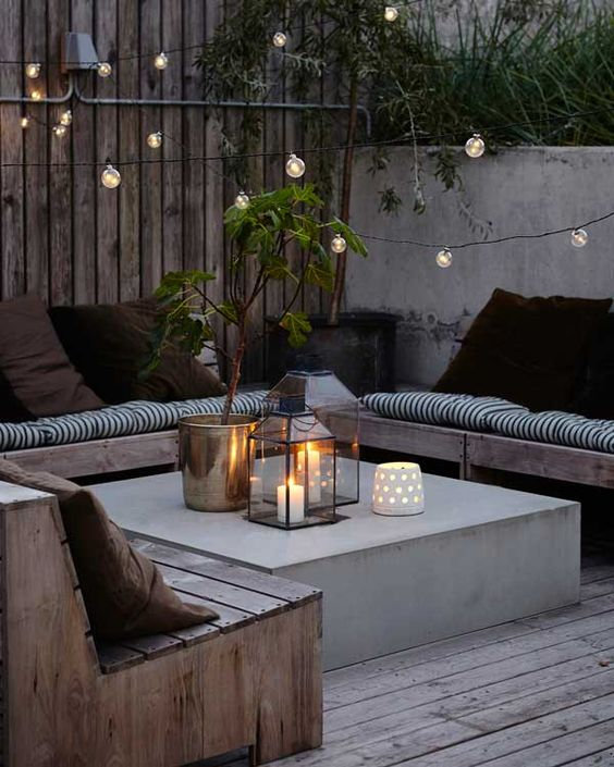 Summer decorating ideas - outdoor patio - Benchbags