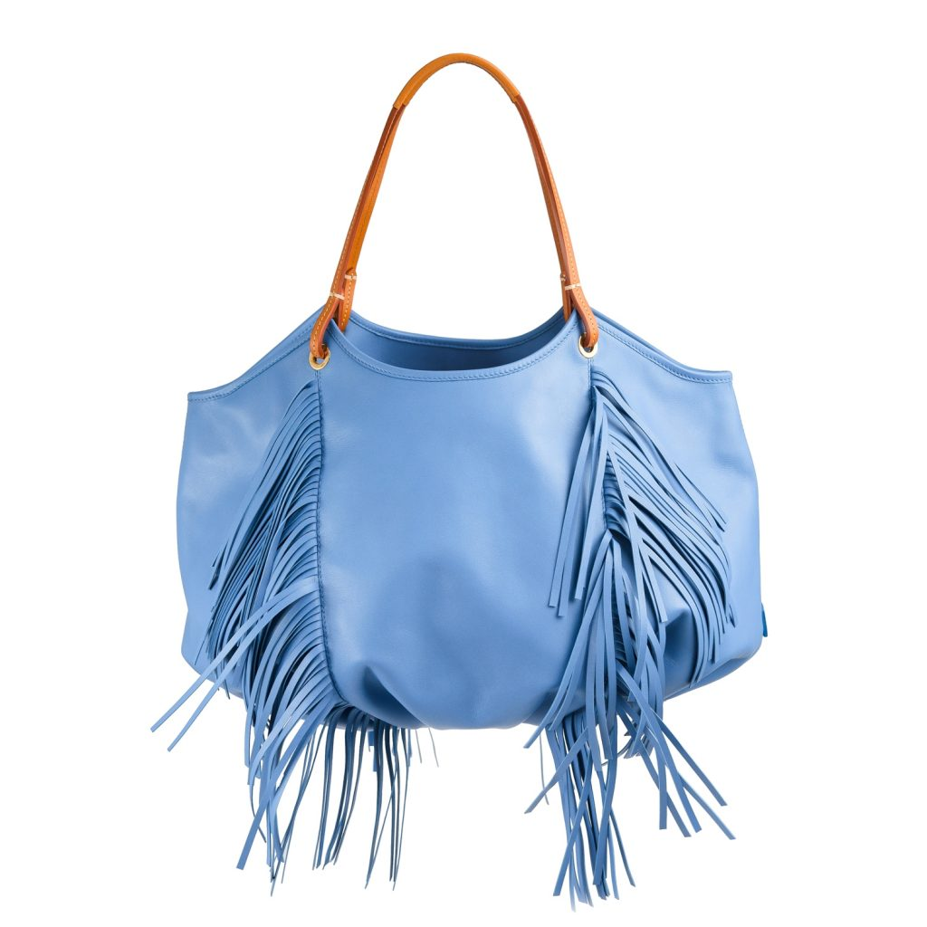 The Fringe Talega: An special bag for a special women