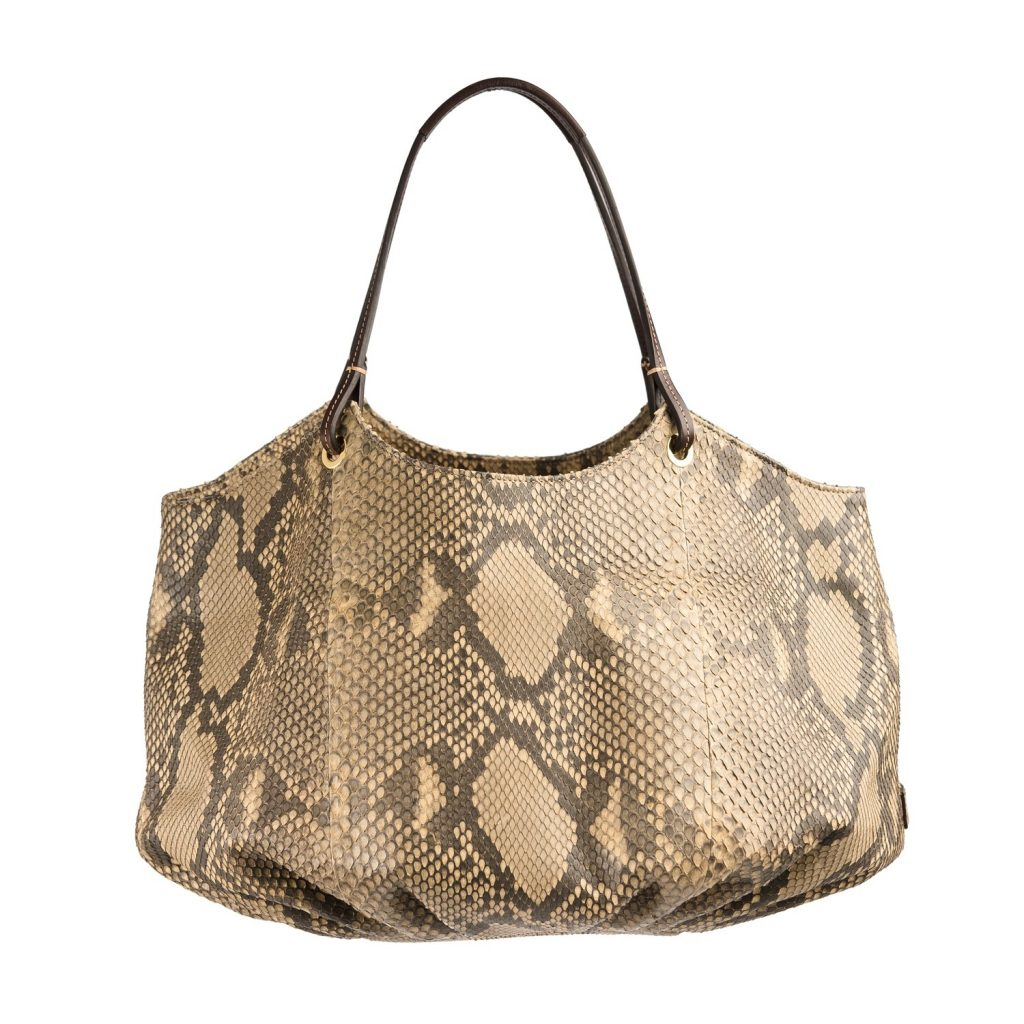 The Python Talega: An special bag for a special women