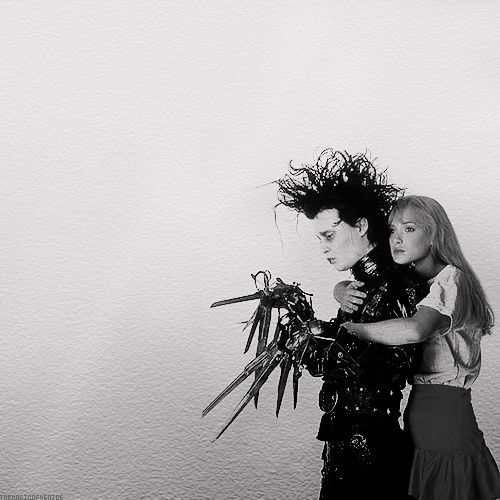 Life is just like a movie - Edwrad scissorhands