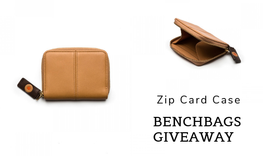 zip card case giveaway benchbags blog